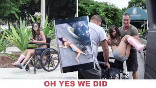 BANGBROS – Young Kimberly Costa Got Hit By A Car, So We Gave Her Some Dick To Feel Better