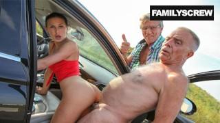 Family Picks Up Lost Girl