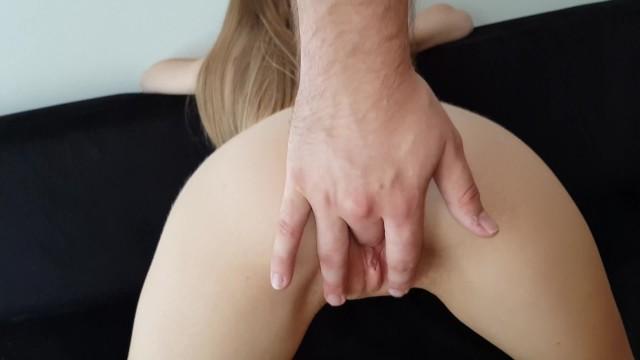 Wet pussy ass boobs 18 year old blonde petite boob, ass pussy massage