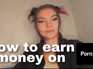 How to make money on Pornhub! Earn money!
