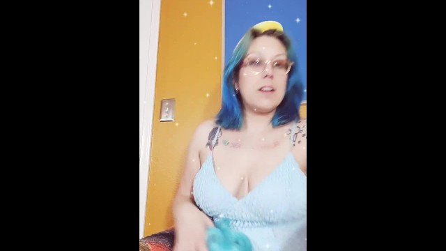 Youtube videos penis slips out Pornstars youtube review of blue hair space buns boob tease almost nip slip
