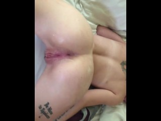 RUBBING STRANGERS CUM ALL OVER MY PERFECT ASS
