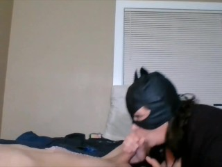 Jasmine swallows all of Cockster's Load!!