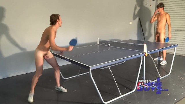 Andy milinokis gay Naked table tennis australia - 5 balls are better than 1