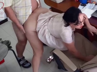 Cumshot/exclusive/office cum sex of in