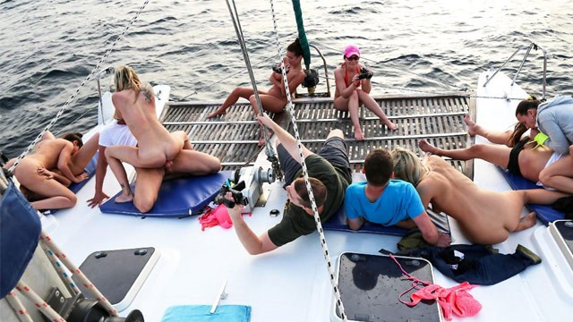 Naked women on fishing boats Shameless boat ride summer vibes