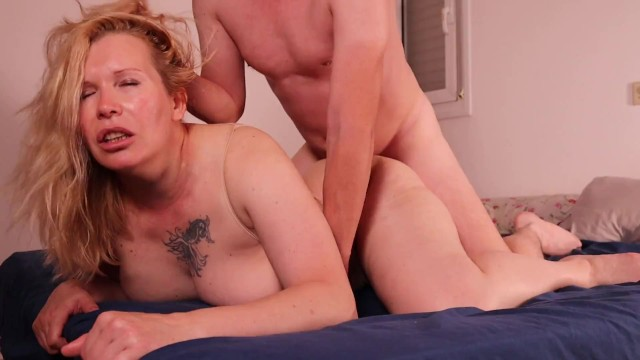Free homemade amateur porn Hot neighbor milf agreed to star in homemade porn. she likes get fucked harder my cum