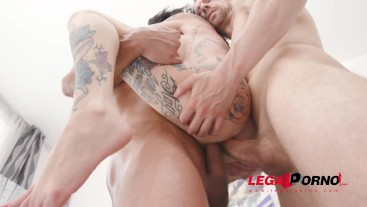 Megan Inky hard anal fucking with 8 dap position. see the new scene on Legal Porno