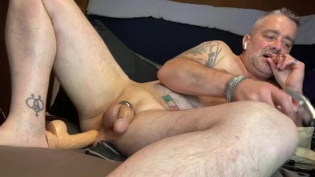 Embarresing penis leakage prexum Daddys precum x 2 too long for twitter full version