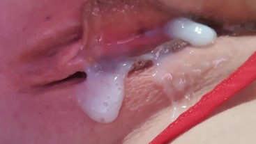 hubby can't even last 2 minutes in my cheating pussy
