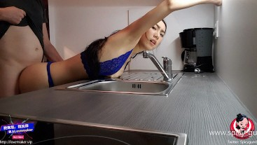 June Liu 刘玥 / SpicyGum - Asian / Chinese Teen Multiple Sex Sessions in Hotel Room (FREE FOR FANS)