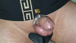 Coming home after sex date sloppy seconds for slave