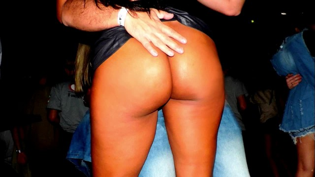Wife at a strip club Naughty wife teasing on nigth club
