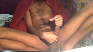 ROCK MERCURY JERKING THICK COCK WHILE THINKING ABOUT YOUR MAN