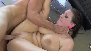 Angela White x Toni Ribas Busty Babe Fucked Hard and Rough