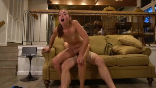 Ass Jiggling & Riding Reverse Before Doggystyle Close up Face Orgasm!