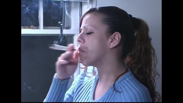 Anal interview Cute multiple smoker interview