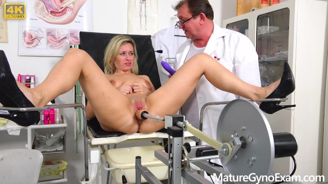 Hot naked shy girl Shy submissive milf made to cum in gyno chair