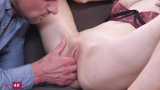 Slim4K - Ariana Shaine - Sexting leads to hot fucking