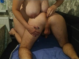 Pegging homemade - gentle home fisting