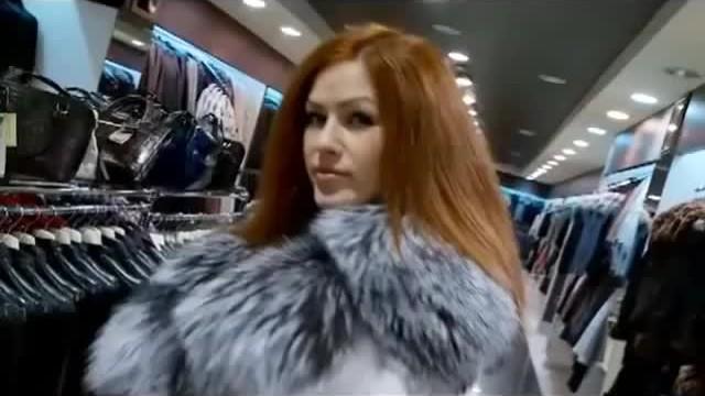 Vintage ladies fur coat Lovely ladies in fantastic furs
