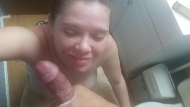 Mom jacked me off Roommates cheating fiancee watching me jack off and takes a facial after a party