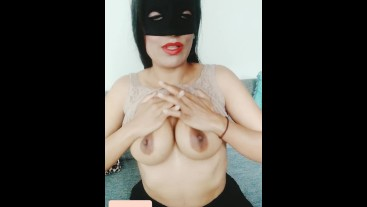 JOI video, cum with me