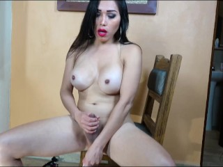 Busty Nina Dances naked.