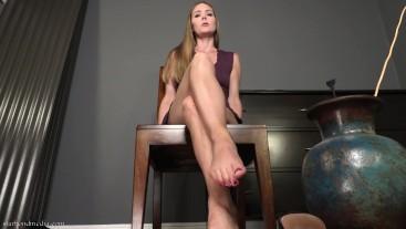 Foot Degradation JOI - Star Nine POV Foot Worship And Humiliation FULL VIDEO