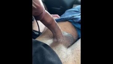 He loves sucking daddy's big dick