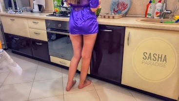 I fucked my friend's ex-girlfriend in the kitchen