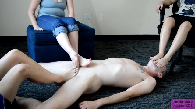 Dylan sprouses penis Tsm - foot smother during double footjob with dylan, stitch, luna