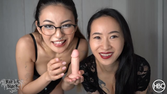 Small vaginal sores Small dick humiliation - double femdom rae lil black