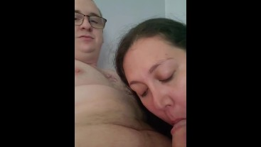Naya Sucks Hubbys Cock For Cum!