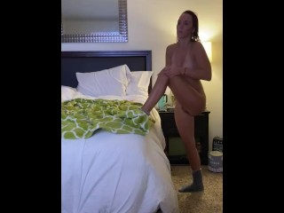 Caught fucking herself!! This outfit must make her horny LMFAO
