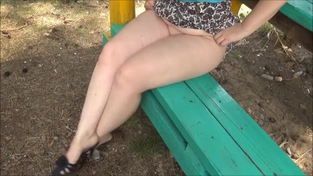 No color sheer sexy thigh highs Juicy thighs of a girl - flashing in public