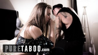 PURE TABOO College Babe Lena Paul Gives it Up to Repo Man