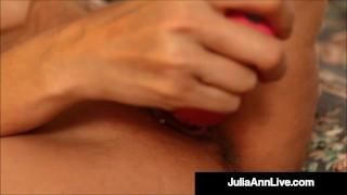 I want my Mommy Julia Ann Fingers Her Sweet Mature Muff
