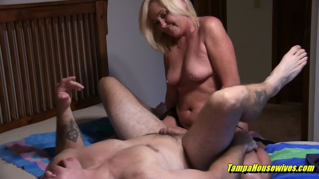 Amateur hosewives Horny housewives can help out their bi-curious husbands