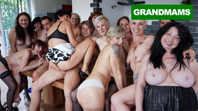 Mature fantasy fest The granny fuck fest never ends