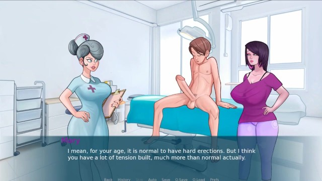 Teen lesbians sucking there tits Sexnote _pt.15 - when you got a bulge but the nurse is there