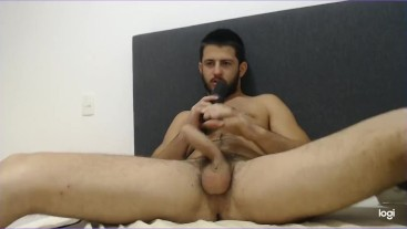 Your new hot neighbor invites you over to masturbate and CUM