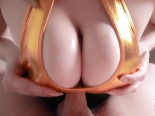 Amazing Clothed Titfuck Compilation with Dirty Talk