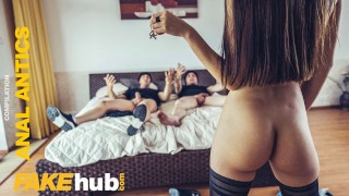 FAKEhub Sexy Women getting fucked in the ass by huge dicks