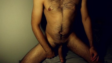 SO HORNY!! I Sprayed My Hairy Chest
