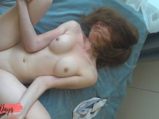 Fucked a young student and cum on her face