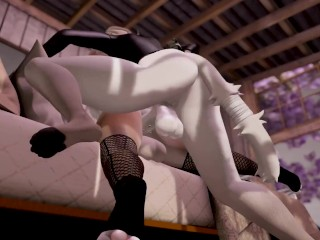 Sexy Femboy Assfucked by Thick Dick - Second Life Yiff