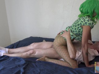 Indian Bitch Paying for Lease with Cock licking and Creampies