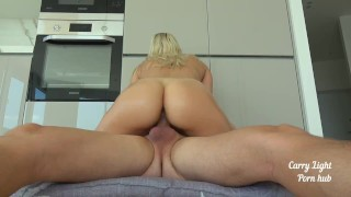 He Keeps Cumming Inside Me After Massive Creampie In My Tight Pussy