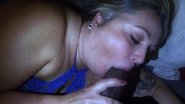 PAWG GIVES POV BLOWJOB